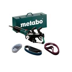 RBE 9-60 Set (602183510) Lijadoras de cinta para tubos Metabo