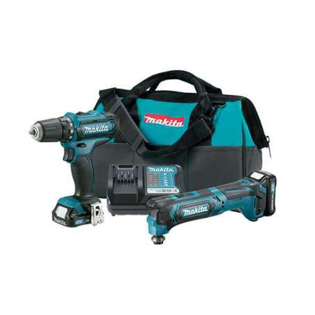 Kit combo Makita TM30D+DF331D 10.8V 1.5 Ah CLX206