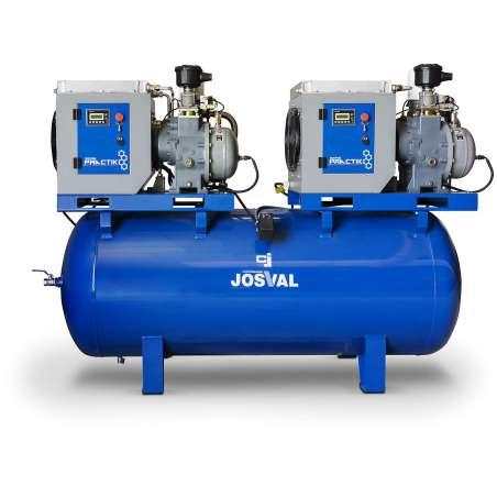 Compresor Josval PRACTIKO DUO 5,5-1000 -YA- 5210404