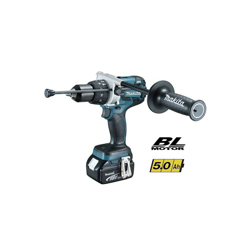Taladro Percutor Makita 18V Litio-Ion DHP481RTJ