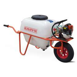 Carretilla sulfatadora ANOVA P100-1 100L - 1 rueda