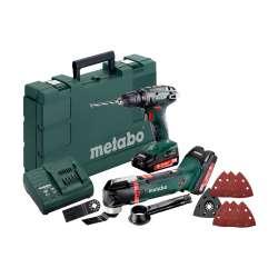 Combo Set 2.6.1 18 V (685081000) Máquinas de batería en el juego  Metabo