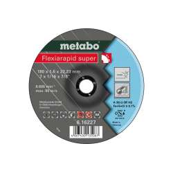 Flexiarapid super 180x1,6x22,23 Inox, TF 42 (616227000) Metabo